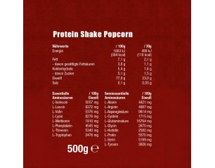 Protein Shake Paket ISO Whey gratis Proben Shaker  - 1