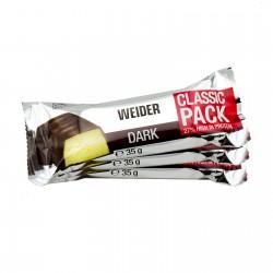 Weider Riegel Zartbitterschokolade 35g